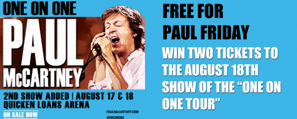 Win Tickets To See Paul McCartney