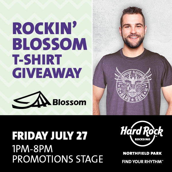 Hard Rock July Blossom Satellite Promo Social