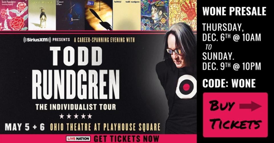 Todd Rundgren Presale Tickets